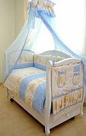 Постельный комплект в детскую кроватку Twins Comfort, 8 эл.