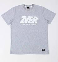 Футболка Zver Logo Basic Grey, фото 1