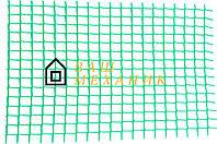 Сетка декоративная Клевер - 1,0 x 20 м (13 x 13 мм) зеленая