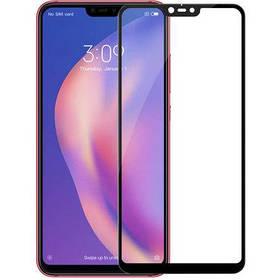 Стекло Full Coverage Xiaomi Mi 8 Lite цвет Black