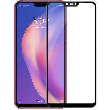 Стекло Full Coverage Xiaomi Mi 8 Lite цвет Black, фото 2