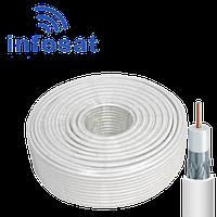 Кабель Infosat F640BV коаксиальный, бухта 100 м