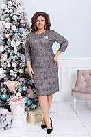 Женское платье увеличенных размеров 52-58, фото 1
