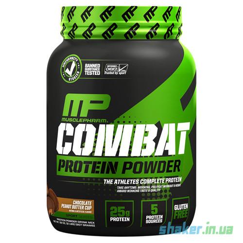 Комплексный протеин Muscle Pharm  Combat Protein Powder (1,8 кг) масл фарм комбат банан