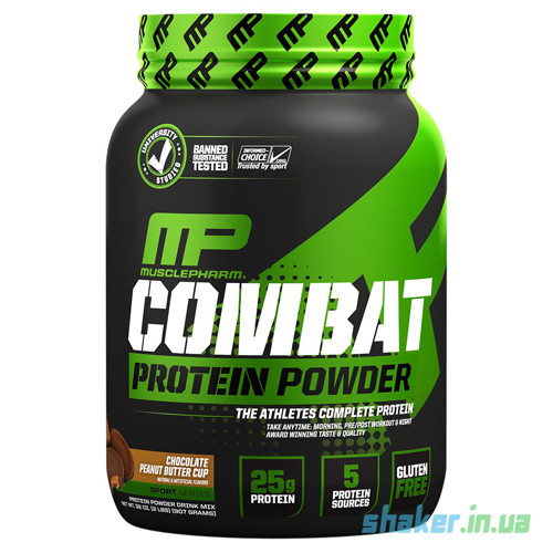 Комплексный протеин Muscle Pharm  Combat Protein Powder (1,8 кг) масл фарм комбат сникерс