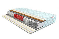 Матрас Делайт Софт (Come For) 800х2000х210 мм независимые пружины 3 зоны кокос до 120 кг