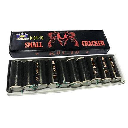 Набор петард Small Cracker K01-10, фото 2