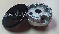 Горелка малая для плиты Indesit С00052930 с крышкой.