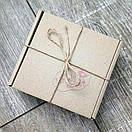 Подарочный набор №10 (коричневый): Кошелек + ключница, фото 8