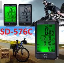 Велокомпьютер беспроводный SunDing SD-576 С сенсорный c подсветкой C