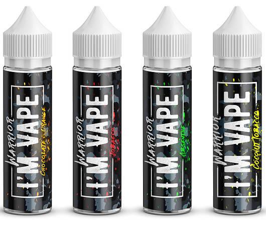 Жидкость для электронных сигарет I'М VAPE Warrior  120 мл