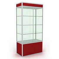 Витрина из стекла. Витрина для аптек. Оборудование для аптек