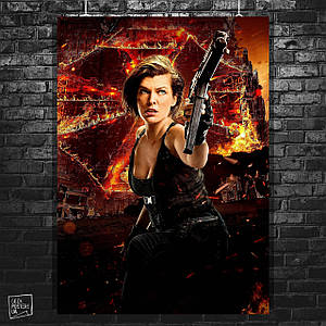 Постер Resident Evil / Обитель зла (60x85см)