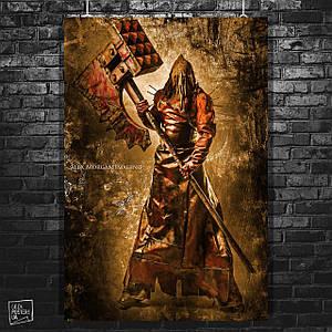 Постер Resident Evil, Executioner, Обитель зла. Размер 60x40см (A2). Глянцевая бумага