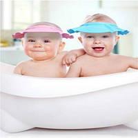 Детская шапочка-козырек для купания ребенка
