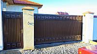 Откатные ворота TM Hardwick (3 200×2 000 мм)
