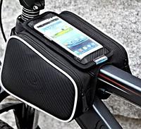 Велосумка на раму ROSWHEEL 12813 с боками, экран до 5.5 вело сумка