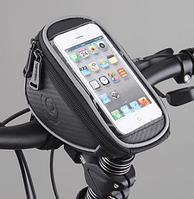 """Велосумка под смартфон 4,2"""" Roswheel с креплением на руль"""