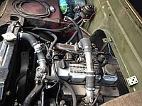 Установка дизельного двигателя Isuzu 3.1тд + МКПП + рк на автомобили УАЗ
