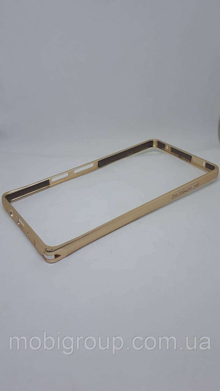 Металлический бампер для Samsung A5 (2015), Gold
