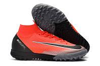 Сороконожки Nike MercurialX Vapor XII Elite TF CR7, фото 1