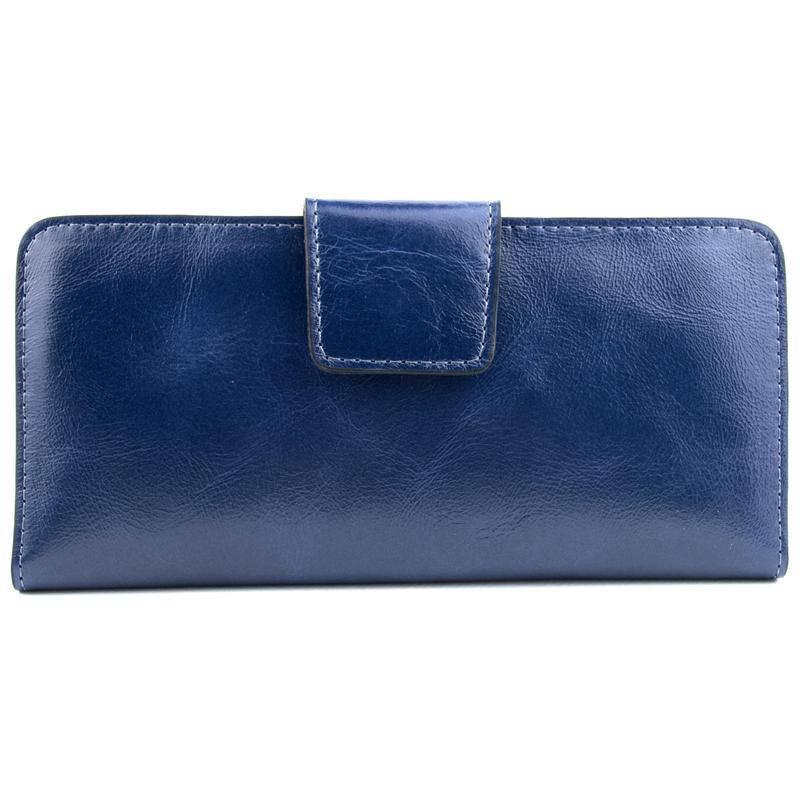 Подарочный набор №11 (синий): обложка на паспорт, права, картхолдер, кошелек
