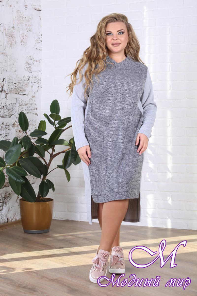ddf84449b128 Женское зимнее платье больших размеров (р. 48-90) арт. Стежка, цена ...