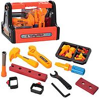 Игровой набор инструменты.Набор инструментов в ящике.Товары для мальчиков.