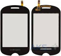 Сенсор (тачскрин) для Samsung Corby POP C3510 Original Black