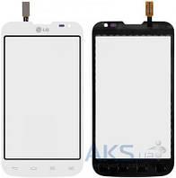 Сенсор (тачскрин) LG L70 Dual Sim D325 Original White