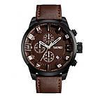 • Оригинал! Мужские часы Skmei 9165 Braun -Braun | Классические Мужские часы, фото 2