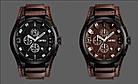 • Оригинал! Мужские часы Skmei 9165 Braun -Braun | Классические Мужские часы, фото 5