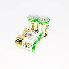 Батарейки алкалайн GP Power supper, D большие, R 20, упаковка — 20 шт, фото 2