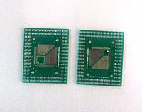 Панелька-переходник QFP / FQFP / LQFP TQFP32 / TQFP44 / TQFP64 / TQFP80 TQFP100 0.5 мм 0.8 мм