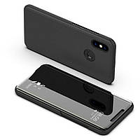 Чехол книжка зеркало Clear View Standing Cover для Xiaomi Redmi note 6 Pro