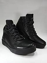 Мужские ботинки зимние из натуральной кожи EXTREME Б4027, фото 3