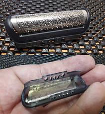Сетка в корпусе BRAUN 10B/20В (Series 1) 170 180 190 Z30 Z40 Z50 браун, фото 3