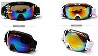 Маска горно лыжная REVO с двойными стеклами /НЕ ПОТЕЮТ/ очки 2 стекла