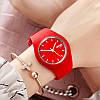 • Оригинал! SKMEI (СКМЕЙ) 9068 RUBBER RED  | женские часы !, фото 6