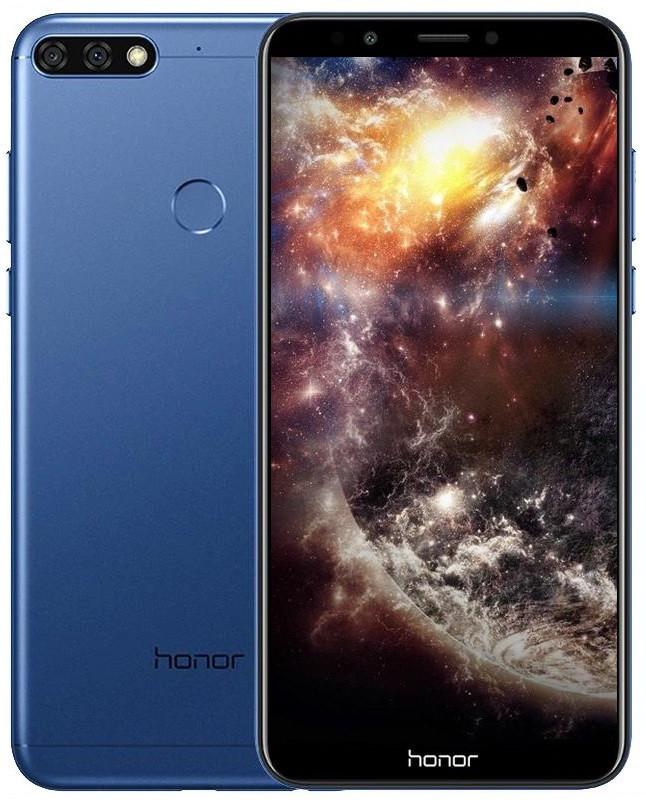 Смартфон Huawei Honor 7C (3/32) с подарками .