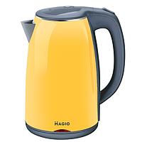 Электрочайник-Термос MAGIO MG-976 /желтый/