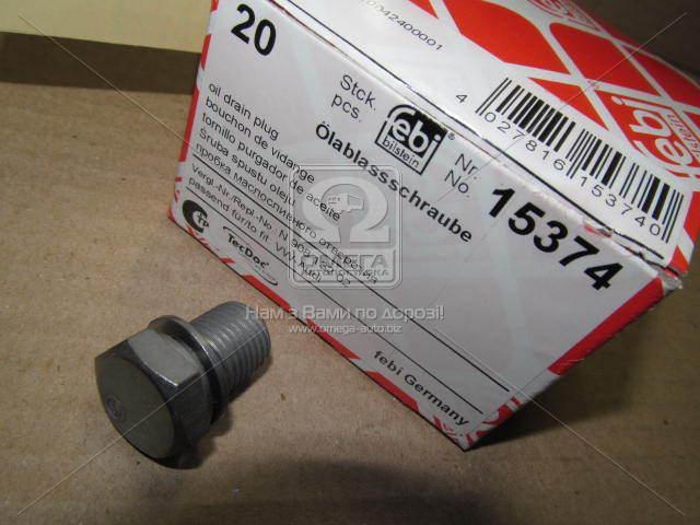 Болт сливного отверстия VAG (производитель FEBI) 15374