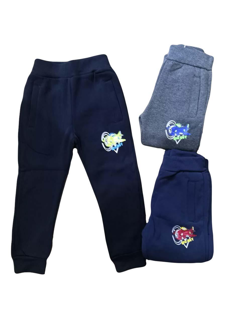 Штаны для мальчиков с начёсом оптом, размеры 80-110 р , Sincere, арт. LL-2378