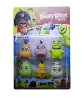 """Фигурки Герои из мультфильма """"Angry Birds"""", 6 героев"""