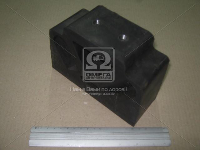 Подушка опоры двигатель МАЗ боковая (производитель Россия г.Балаково) 500-1001035