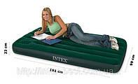Надувной матрас Intex 66927 размеры 99х191х22 см.