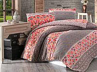 Комплект постельного белья First Choice Flannel фланель евро арт.Minyatur