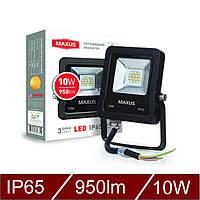Светодиодный прожектор MAXUS 10W, 5000K