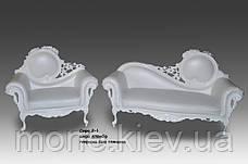"""Кресло кожаное  в стиле барокко  """"Софа"""", фото 3"""