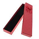 Подарочная коробочка под браслет или цепочку Геометрические узоры 20,2*4,5*2,2 см, фото 7
